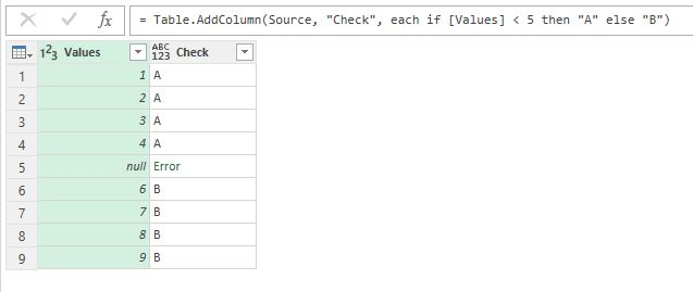 Comparing 'null' values in Power Query | Excel Inside